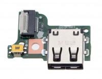 Power Button Board / Einschaltplatine mit USB Buchse Quanta 1HY4ZZZ0219