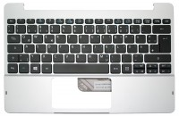 Gehäuseoberteil mit Tastatur (deutsch) silber Pegatron 9C-NM15S0070