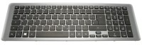 Tastatur / Keyboard (German) black / gray Pegatron 9C-NOVNS3060