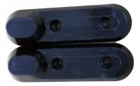 TECHNOSTAR (22 & 53) Achsenschraubenabdeckung vorn / hinten SET TES200 E-RICH (Original)