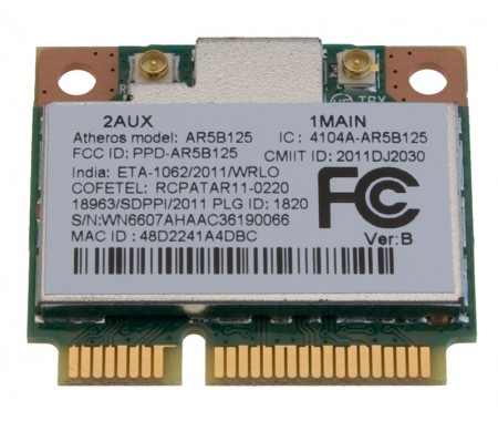 DRIVERS ACER ASPIRE 5538G ATHEROS WLAN